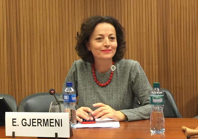 Ms. Eglantina Gjermeni, chairwoman of Parliamentary Sub-Committee on Gender Equality in Albania. Photo: Personal archive