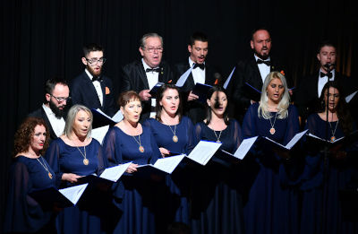 The concert was a call to support survivors of conflict-related sexual violence. Photo: UN Women Kosovo