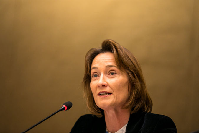 Ms. Pascale Baeriswyl. Photo: UN Women/Antoine Tardy