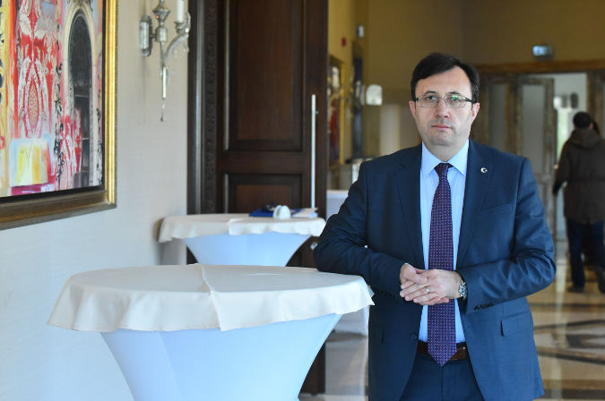 Naim Çoban is the Head of the Strategic Development Department that operates under the Administrative Department in the Turkish Parliament. Photo: Ender Baykus