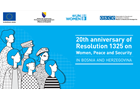 Bosnia and Herzegovina marks 20th anniversary of the UN Security Council Resolution 1325 on Women, Peace and Security