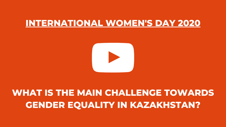 International Women's Day video from Kazakhstan