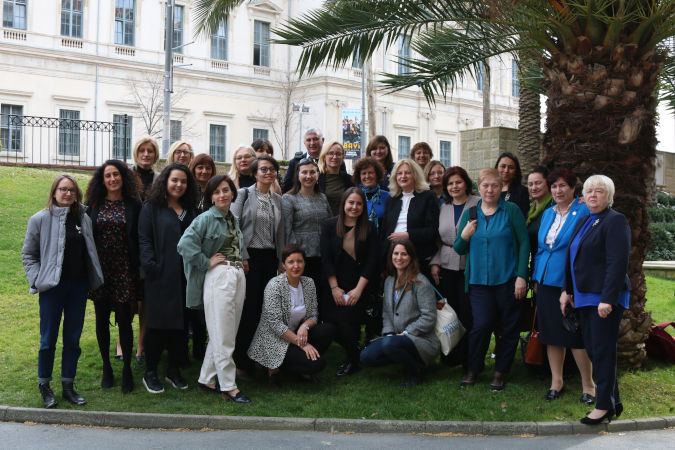 On 27-28 February 2020 in Istanbul, UN Women brought together 25 civil society representatives from across the region to discuss 20 years of the Women, Peace and Security (WPS) agenda. Photo: UN Women/Gizem Senturk
