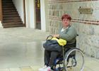 """In words of Tatjana Stojsic Petkovic: """"The COVID-19 crisis deepens the marginalization of women with disabilities in Serbia"""""""
