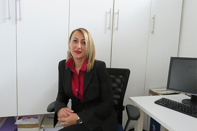 Meliha Sendic, Director, Centre of Women's Rights. Photo courtesy of Meliha Sendic.