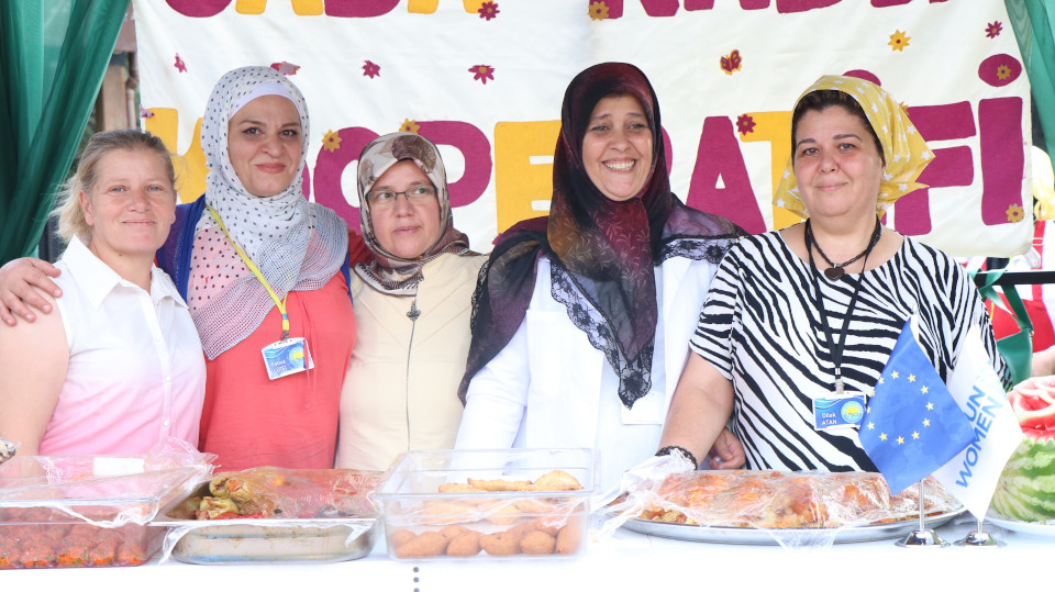 The Cooperative is at the International Gastronomy Festival in Gaziantep. Photo: Tayfun Yilmaz