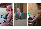 Turning to technology to connect women living with HIV during COVID-19 in Tajikistan