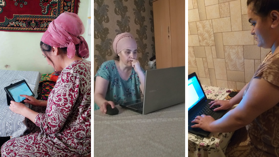 A new Viber group enables members to post questions or facts as a resource for other members. Photos: UN Women/Takhmina Khaydarova