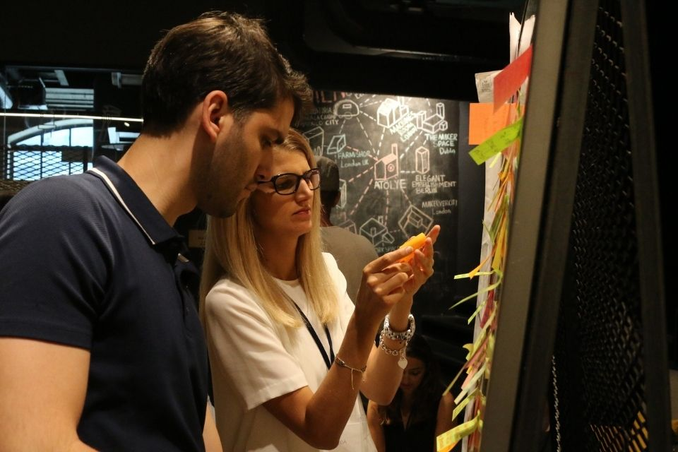 Last year, an Innovation Bootcamp was held in Istanbul on 6- 9 August 2019 to foster a deeper understanding on key concepts and approaches of innovation as part of the Ideas Campaign. Photo: UN Women/Giulia Gustavsen Angelini