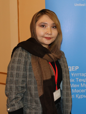 Masuma Hashimi. Photo: Narxoz University