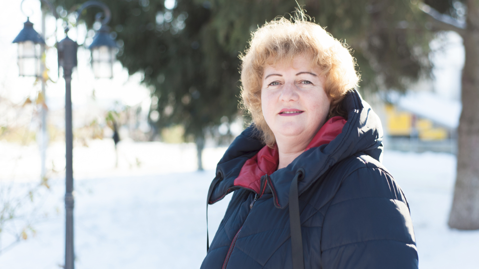Olga Tsyba is an activist, newly elected local council member and a community leader in Ukraine. Photo: Vitaliy Shevelev