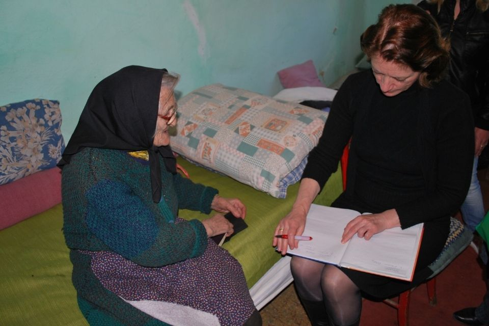 Working with ADC, Dr. Zagorac spent the last year focusing her efforts on helping rural women. Photo: UN Women/ADC