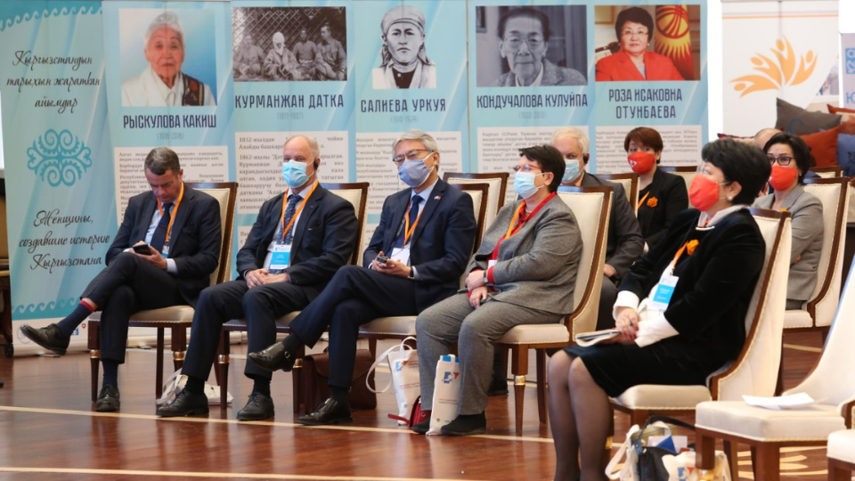 Representatives from Government, international organizations and civil society organizations attended the Forum alongside activists and representatives from the culture and business communities. Photo: Erkin Bolzhurov for UN Women