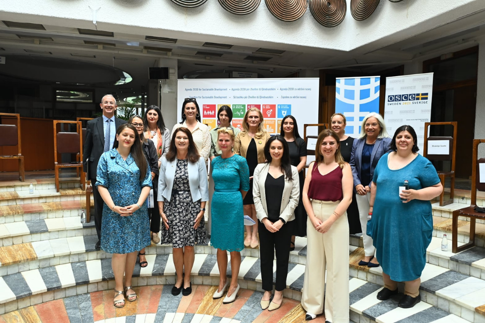 The high-level meeting gathered representatives from the civil society and women's organizations to exchange approaches on advancing the WPS agenda in Kosovo.