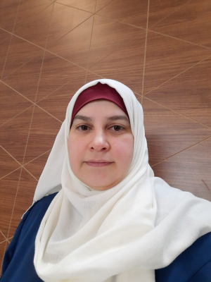 Lubaba Alahdab is the Executive Director of the women-led civil society organization Syrian Women Association. Photo: Syrian Women Association