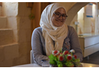 """In the words of Sibel Sultan Garip: """"Giving a hand to other women and helping them to feel meaningful fulfils me"""""""