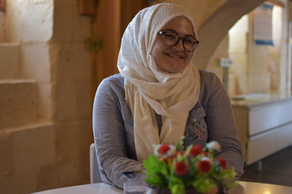 Sibel Sultan Garip is from Syria and has been living in Turkey since March 2013. She is proud of inspiring women as a leader in her community. Photo: UN Women/Duygu Saykan Ruso