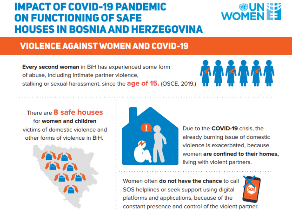Impact of the COVID-19 pandemic on functioning of safe houses in Bosnia and Herzegovina