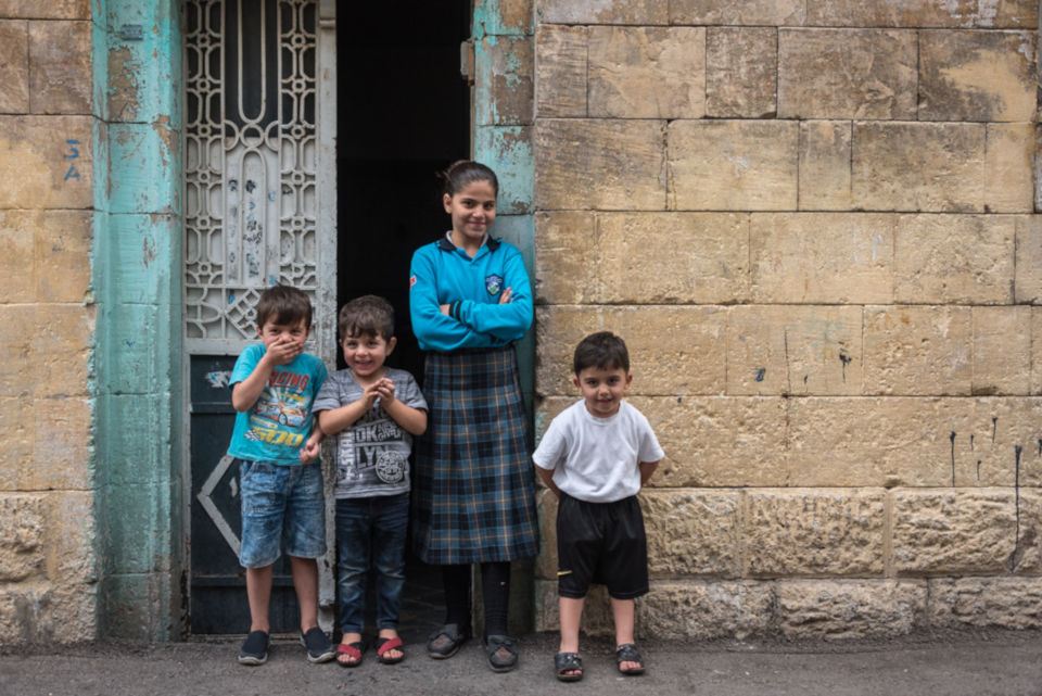 Children of Gaziantep. Photo: Diego Cupolo