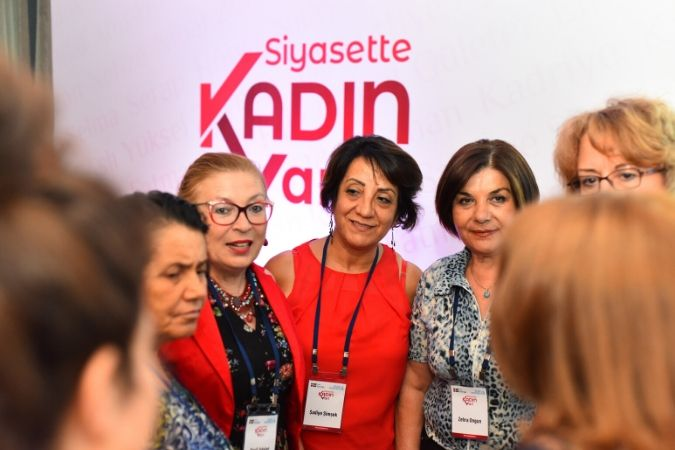 Women leaders from political parties and civil society organizations at the Experience Sharing Workshop. Photo: UN Women/Ender Baykuş