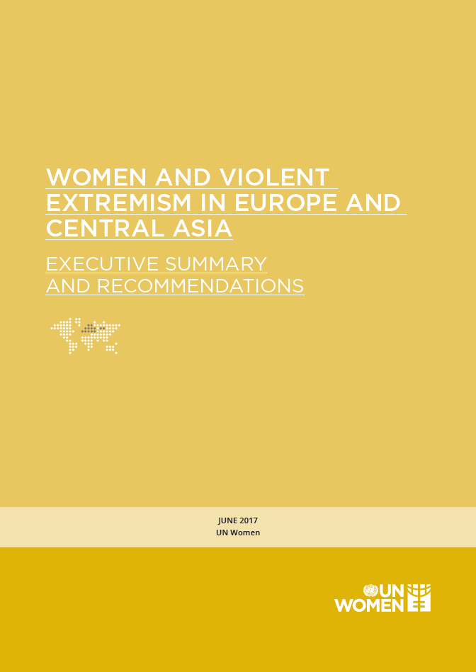 Women and Violent Extremism in Europe and Central Asia