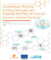 Awareness-Raising Among Refugee and Migrant Women on How to Access Justice Services