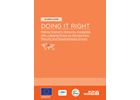 DOING IT RIGHT: Making women's networks accessible with a special focus on women from minority and disadvantaged groups