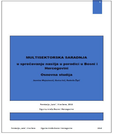Multisectoral Approach to Prevention of Violence Against Women in Bosnia and Herzegovina