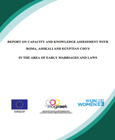 Early Marriage: The Capacity and Knowledge Assessment of Roma, Ashkali and Egyptian CSOs