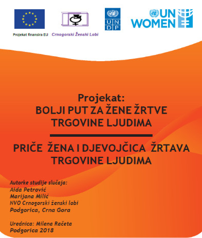 Women and Girl Victims of Trafficking Montenegrin