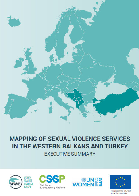 Mapping of Sexual Violence Services in the Western Balkans and Turkey
