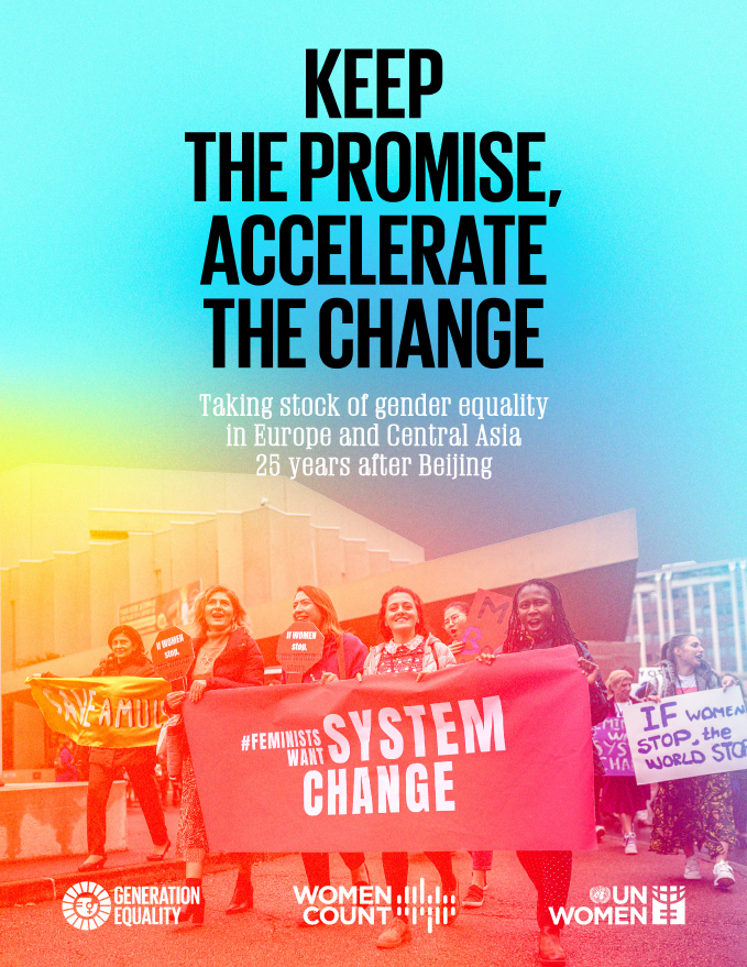 Keep the promise, accelerate the change