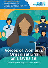 Voices of women's organizations on COVID-19: April 2020 sub-regional consultations