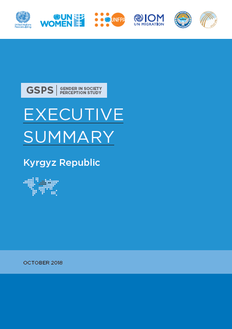 Gender in society perception study, Kyrgyz Republic