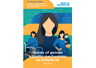 Voices of gender equality mechanisms on COVID-19