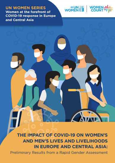 The impact of COVID-19 on women's and men's lives and livelihoods in Europe and Central Asia: Preliminary results from a Rapid Gender Assessment