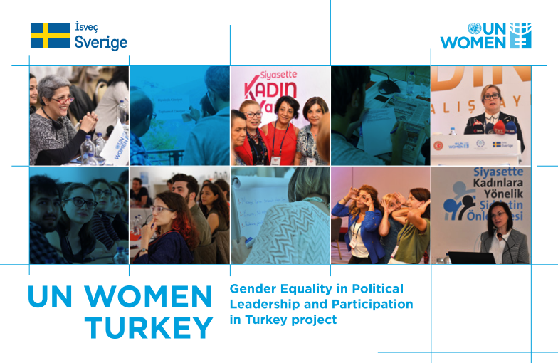 Gender Equality in Political Leadership and Participation in Turkey brochure
