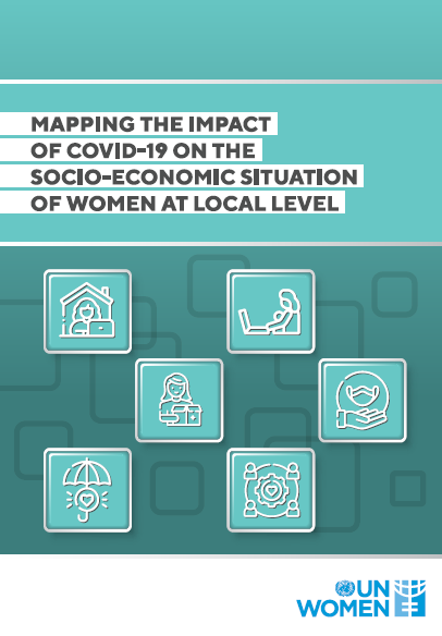 Mapping the impact of COVID-19 on the socio-economic situation of women at the local level