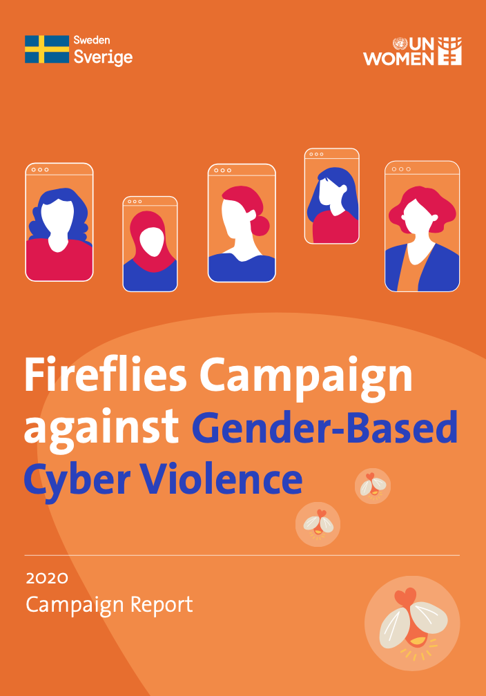 Fireflies Campaign against Gender-Based Cyber Violence publication cover page