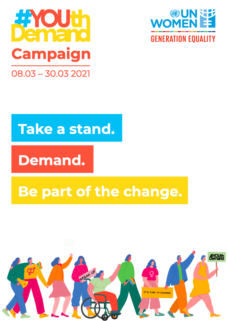 #YOUthDemand Report cover image