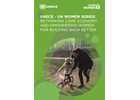 UNECE - UN Women series: Rethinking care economy and empowering women for building back better