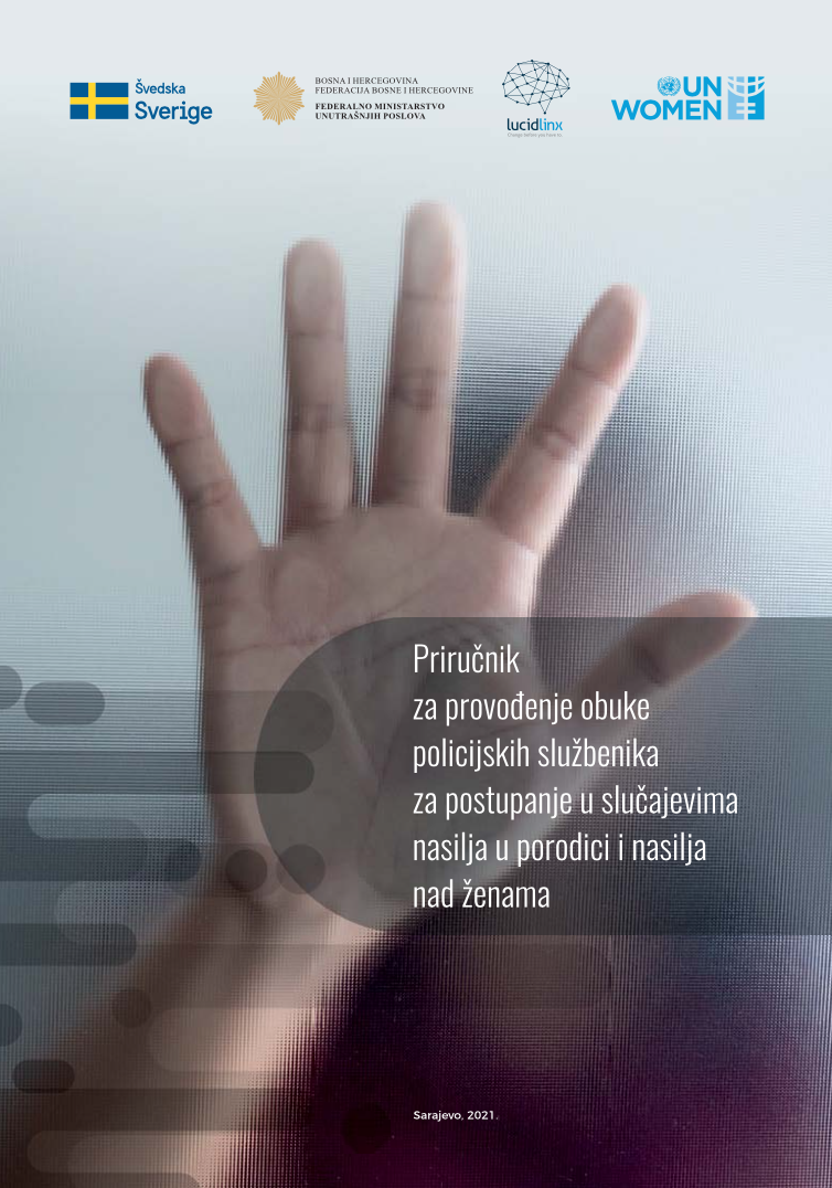 Manual for training of police officers on response to cases of domestic violence and violence against women cover image