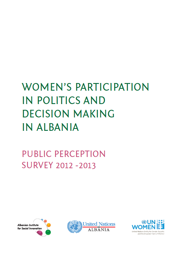 Women's participation in politics and decision-making in Albania