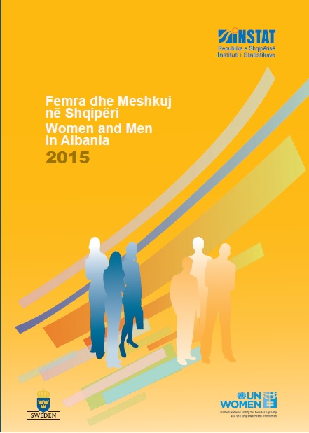 Women and Men in Albania 2015- Cover