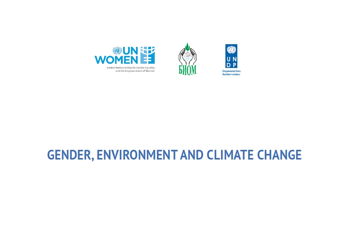 Gender, Environment and Climate Change