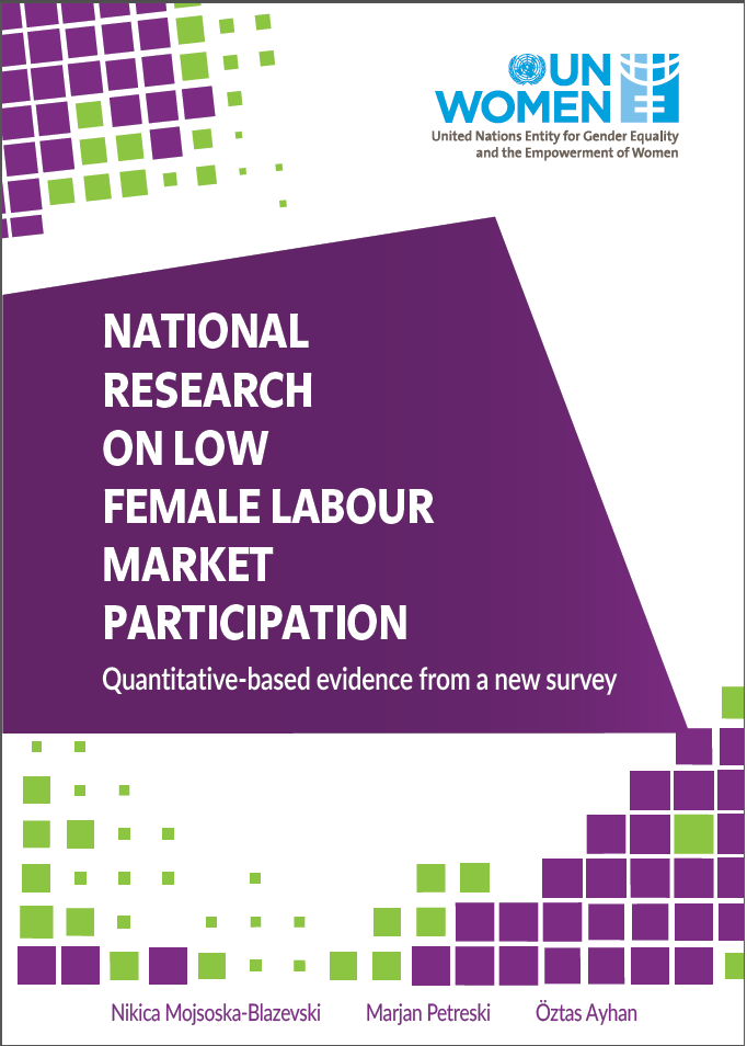 National Research on Low Female Labour Market Participation (Quantitative based evidence from a new survey)