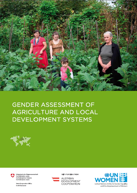 Gender assesment of agriculture