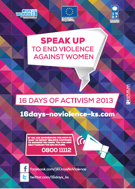 E-book on 16 Days of Activism Campaign to End Violence against Women in 2013