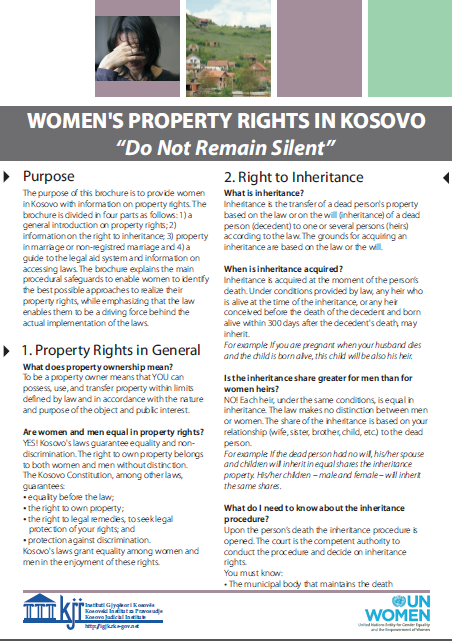 Brochure on Property Rights