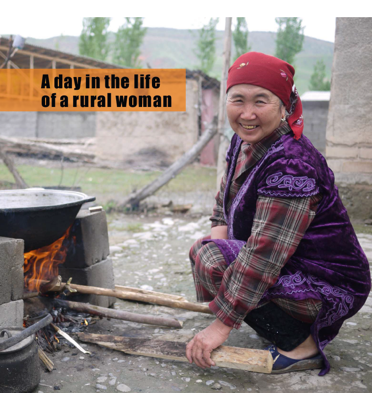 A day in the life of a rural woman Cover